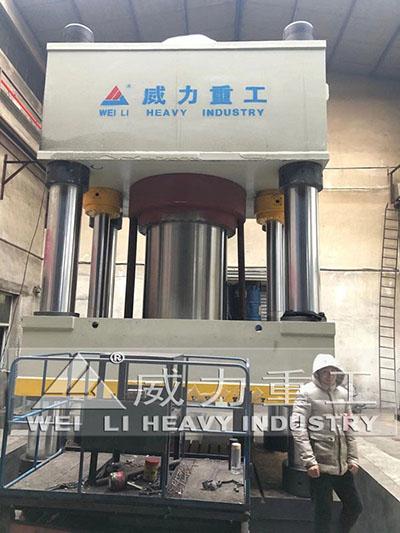 4000吨四柱液压机